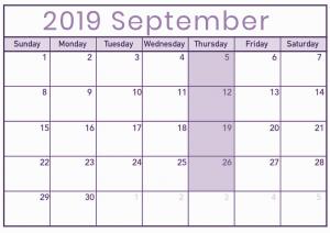 MBSR September 2019