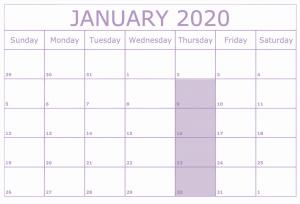 MBSR 2020 January